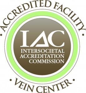 Accredited varicose vein center