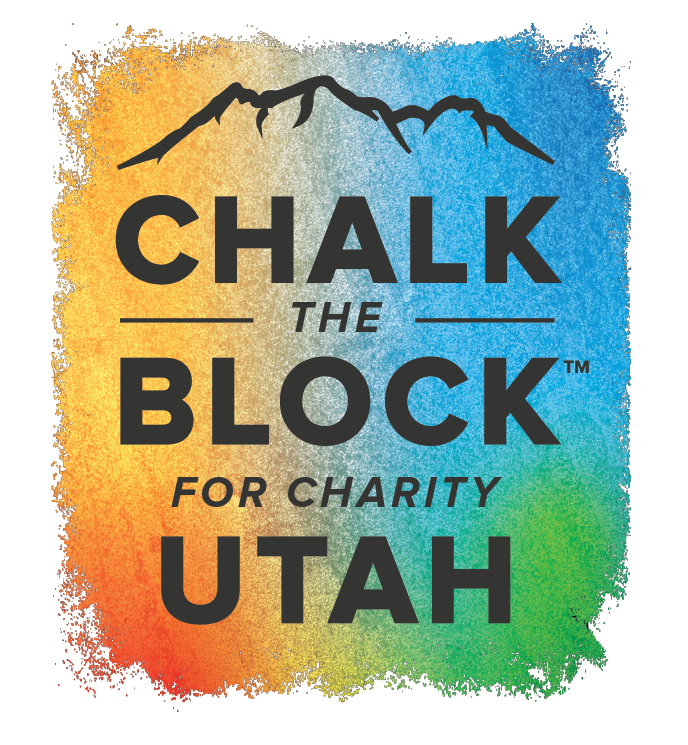 chalk the block for charity utah